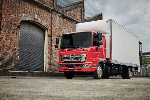 The popularity of Allison automatic transmissions as an option in medium-duty trucks has seen major truck maker Hino declare that 65 percent of all of its new Hino 500 Series standard cab trucks are now ordered with Allison Automatics. (Photo: Business Wire)