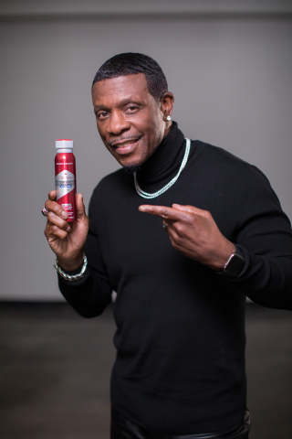 """October 24, 2019 -- R&B icon Keith Sweat drops diss track and music video in response to the recent Old Spice advertising campaign and the brand's irrational commitment to eliminating sweat in all forms, including removing Washington Redskins rookie Montez Sweat from the NFL based solely on his last name. The song is a remake of Sweat's 1996 hit """"Nobody,"""" which ranked No. 1 on Billboard's Hot R&B/Hip Hop songs. Old Spice, a long time sponsor of the NFL, created the tongue-in-cheek, faux political-style campaign to support Old Spice Sweat Defense anti-perspirants, including new Dry Spray delivering superior 48-hour sweat and odor protection. (Photo: Business Wire)"""