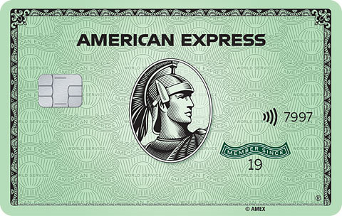 Meet Green From Amex (Photo: Business Wire)