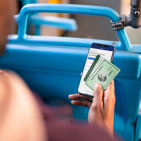 3X Membership Rewards points on travel including transit (Photo: Business Wire)