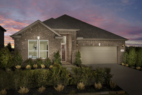 New KB homes now available in Houston. (Photo: Business Wire)