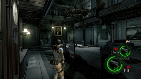 Resident Evil 5 will be available on Oct. 29 – just in time for Halloween! (Photo: Business Wire)