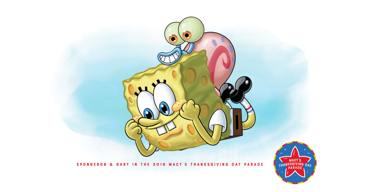Nickelodeon to Debut Brand-New SpongeBob SquarePants Balloon and Blue's Clues & You! Float at the 93rd Annual Macy's Thanksgiving Day Parade®