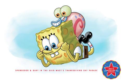 Brand-New SpongeBob SquarePants Balloon (Photo: Business Wire)