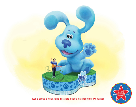 Brand-New Blue's Clues & You! Float (Photo: Business Wire)