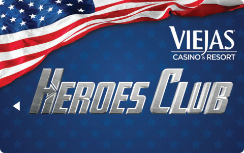 Heroes Club Card at Viejas Casino & Resort (Photo: Business Wire)