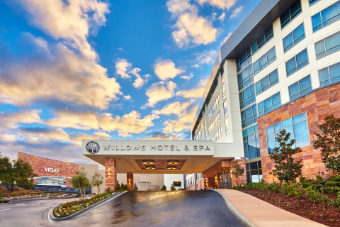 Willows Hotel & Spa at Viejas Casino & Resort. All-adult, all-suite tower. (Photo: Business Wire)