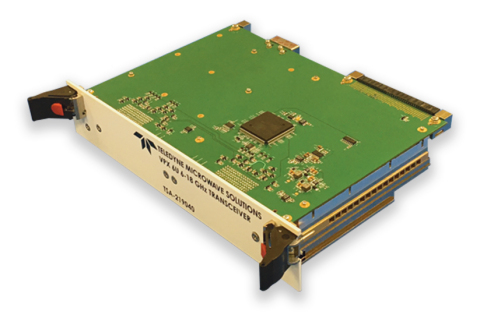 The new 6U VPX Transceiver from Teledyne Microwave Solutions, built on a modular platform and delivering the fastest tuning in the industry. (Photo: Business Wire)
