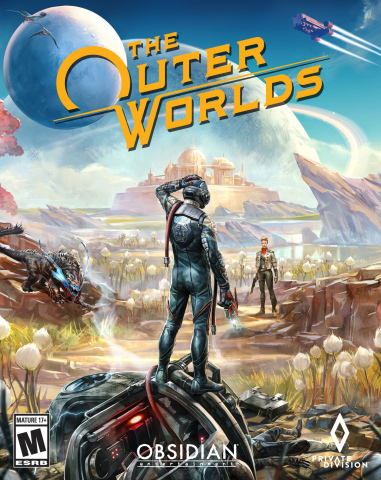 Private Division and Obsidian Entertainment are proud to announce that The Outer Worlds is now available across the Xbox One family of devices, including Xbox One X, PlayStation®4, PlayStation®4 Pro, and Windows PC*, and will be coming to Nintendo Switch in 2020. The Outer Worlds won the best original game at E3 2019 and is developed by co-game directors Tim Cain and Leonard Boyarsky, original creators of Fallout, who reunited for this thrilling new single-player RPG, and from the renowned team at Obsidian, developers of Fallout: New Vegas, Star Wars: Knights of the Old Republic II, South Park: The Stick of Truth, and the Pillars of Eternity franchise. (Graphic: Business Wire)