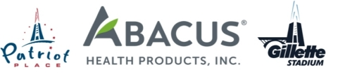 Abacus Health Products Partners with Gillette Stadium and Patriot Place to Increase Awareness of CBDMEDIC. (Graphic Business Wire)