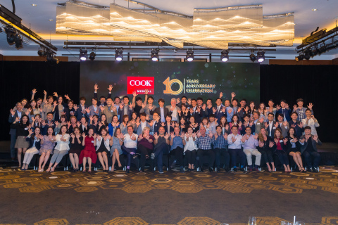 Cook Korea has grown from 20 to 80 employees in the past 10 years to support the fast-growing business with more than 1,100 products and over 40 product family lines across the country. (Photo: Business Wire)