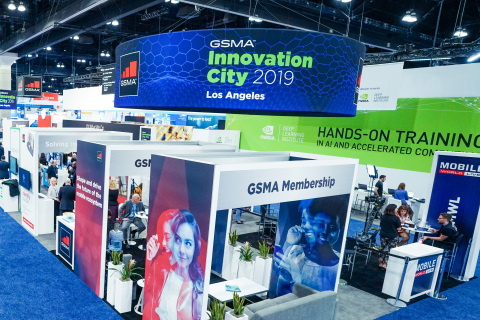 "GSMA 2019""与CTIA合作的MWC洛杉矶""巩固其作为行业领先展会的地位(照片:美国商业资讯)"