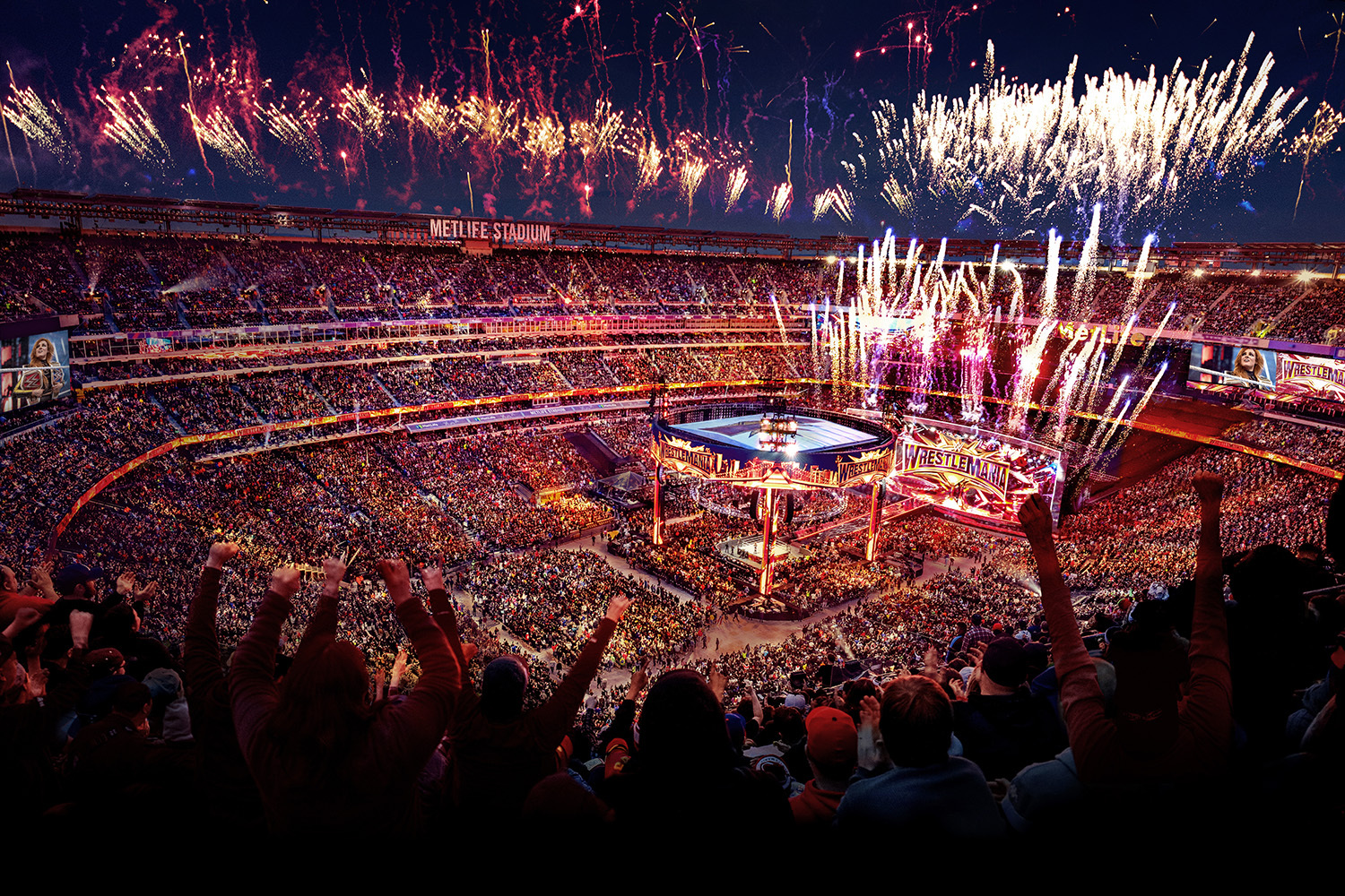 Wrestlemania Tickets Available Friday November 15 Business Wire