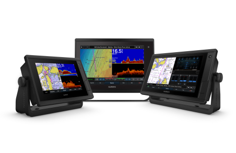 The new Garmin GPSMAP Plus series is the latest addition to its flagship GPSMAP lineup of premium multi-function displays (MFDs) that brings increased engine integration and OneHelm third-party integration across the full line. (Photo: Business Wire)