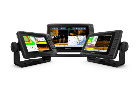 The Garmin ECHOMAP UHD series is a new line of mid-sized keyed and touchscreen with keyed-assist combos that bring premium features like built-in support for Garmin's crystal-clear Ultra High-Definition scanning sonar and award-winning Panoptix LiveScope™ to smaller, more affordable display options. (Photo: Business Wire)