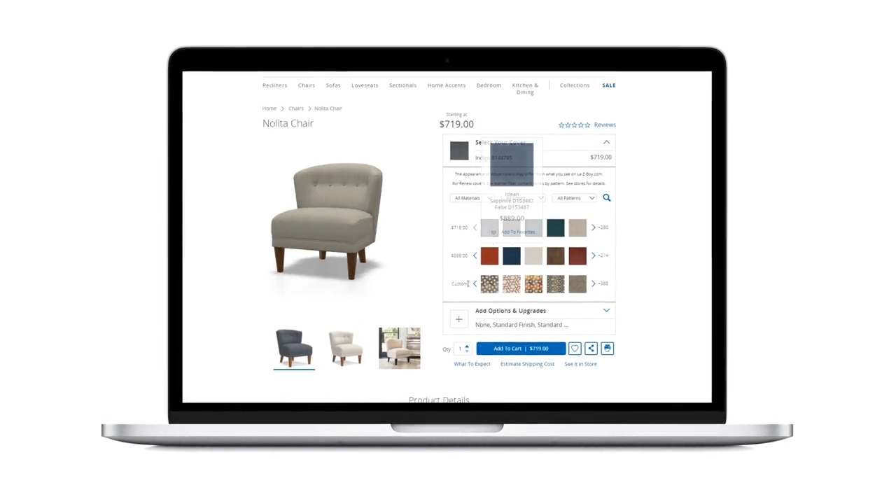 The Marxent® 3D Visual Product Configurator with 360 Product Viewer is the complete configure, visualize, price, and quote solution that delivers detailed, interactive 3D models to ecommerce product pages.