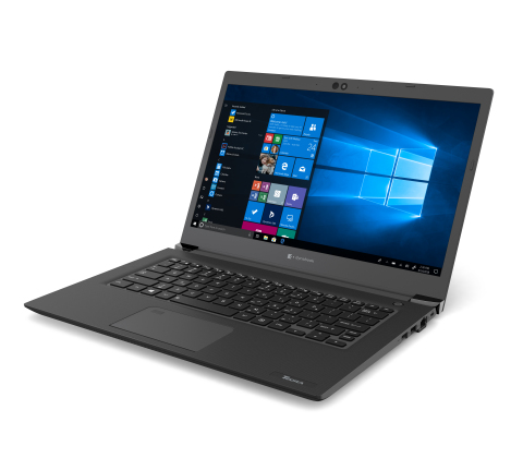 The new thinner and lighter, 14-inch professional-grade Tecra A40 strikes the perfect balance between performance, portability and screen size. (Photo: Business Wire)