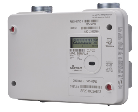 The new Sensus Sonix IQ residential gas meter's advanced smart sensing includes continuous health checks, theft and tamper detection, plus storage for 90-days of hourly data. (Photo: Business Wire)