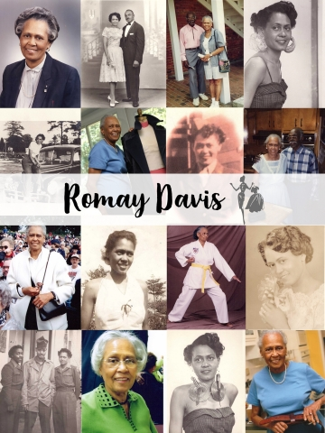 All those inspired by Ms. Romay's accomplishments and zest for life are encouraged to celebrate her 100 years by sharing on social media how they will make today a #RomayDavisDay. (Photo: Business Wire)