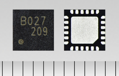 """Toshiba: a three-phase brushless motor control pre-driver IC """"TC78B027FTG"""" for applications such as high-velocity server fans. (Photo: Business Wire)"""