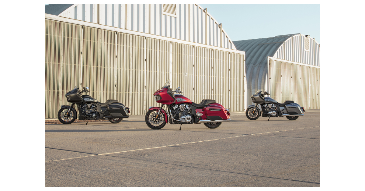 Indian Motorcycle Pushes American V-Twins Forward With the All-New 2020 Challenger – the Ultimate American Bagger