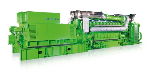 INNIO's Jenbacher fast-start J620 natural gas generator can provide the full 3-megawatt output in less than 45 seconds for data center applications. (Photo: Business Wire)