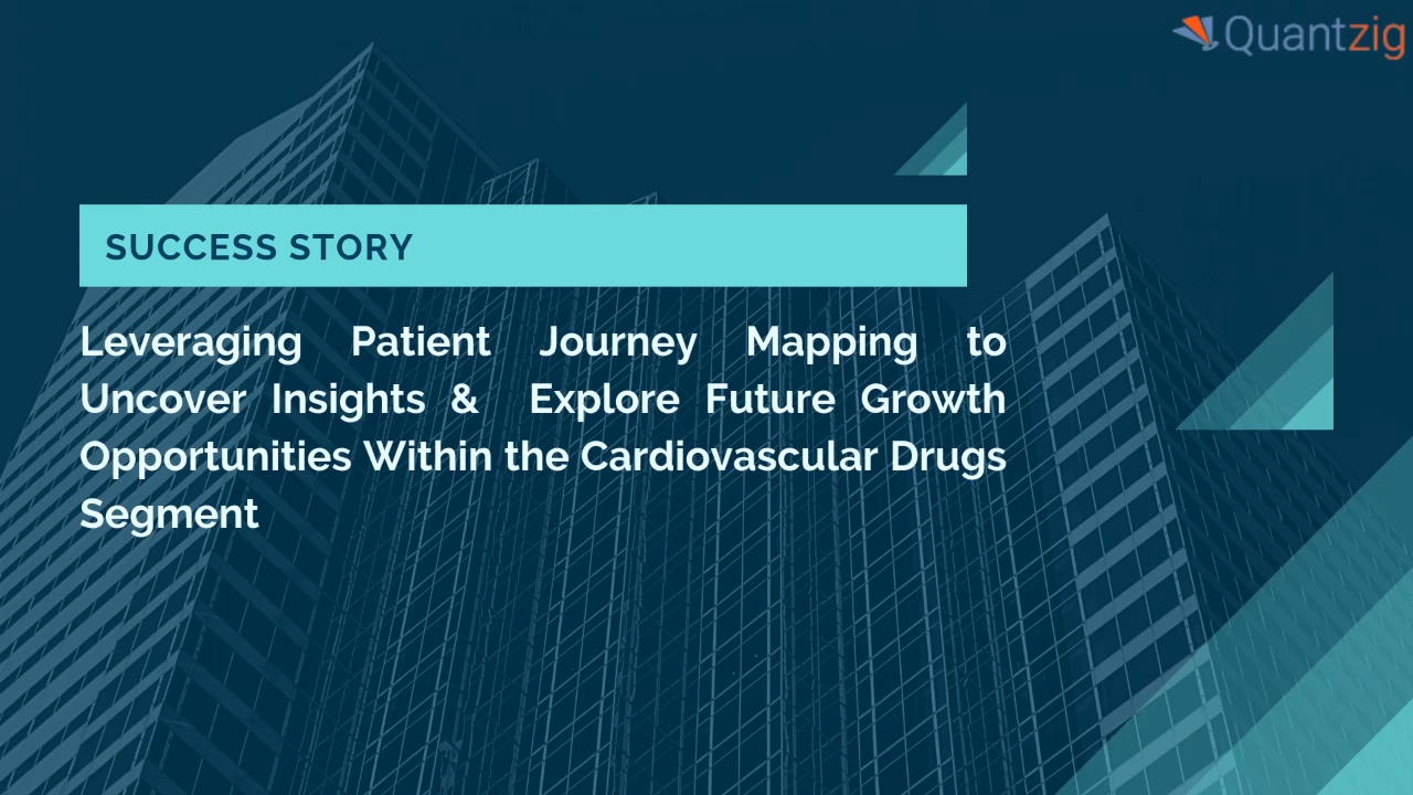 Leveraging Patient Journey Mapping to Uncover New Insights & Explore Future Growth Opportunities Within the Cardiovascular Drugs Segment