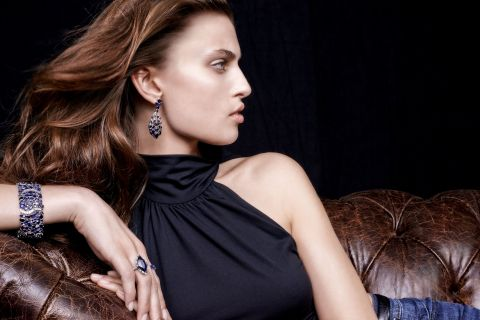Kat Florence releases World's Rarest Kashmir Sapphire Collection. (Photo: Business Wire)