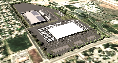 Aerial view of the Salt Lake Metro Data Center Campus (Graphic: Business Wire)