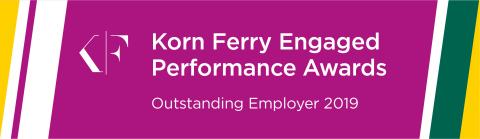 Commerce Bank has been recognized as a Korn Ferry 2019 Engaged Performance Awards Winner (Graphic: Business Wire)