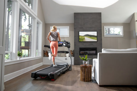Popular Bowflex® Results Series BXT216 and BXT116 treadmills will be compatible with the JRNY™ app, delivering real-time coaching and guided runs that automatically adjust to the user's fitness level. (Photo: Business Wire)