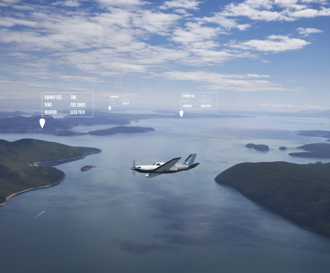 Garmin Autoland is featured in the Piper M600 with the G3000 integrated flight deck (Photo: Business Wire)