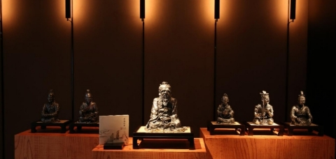 Figurines of Confucius and his disciples from Celestial Wisdom (Photo: Business Wire)