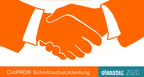 CutPRO® Cut Resistant Clothing Is Exhibiting At 'Glasstec 2020' Expo on 20-23 October 2020 in Dusseldorf, Germany. (Graphic: Business Wire)