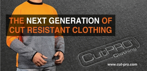 CutPRO® Cut Resistant Clothing is fully CE marked, ISO 9001:2016 quality controlled, tested and certified against all relevant European, American and International standards. (Photo: Business Wire)