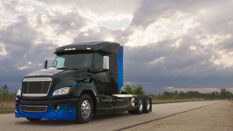 Cummins Hydrogen Fuel Cell Truck (Photo: Business Wire)