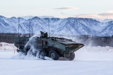 The U.S. Marine Corps has awarded BAE Systems a $120 million contract for continued low-rate production of the Amphibious Combat Vehicle. (Photo: BAE Systems, Inc.)