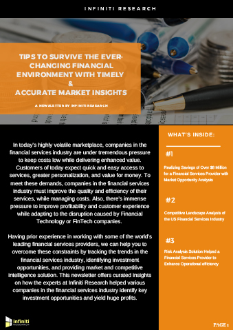 Tips to survive the ever-changing financial environment with timely and accurate market insights