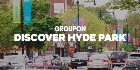 Groupon's new Hyde Park campaign features small businesses from the South Side neighborhood. (Graphic: Business Wire)