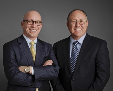 Matt Schreiber, Chief Executive Officer & Don Schreiber, Jr., Chief Visionary Officer (Photo: Business Wire)