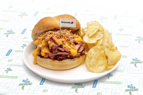Aramark is celebrating National Sandwich Day, November 3, 2019, with a vibrant selection of new sandwiches at the eight arenas it serves, including the Fifth Ave Grinder at PPG Paints Arena in Pittsburgh. (Photo: Business Wire)