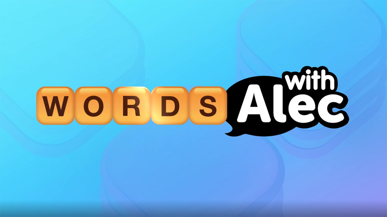 Alec Baldwin collaborates with Words With Friends in creative campaign.