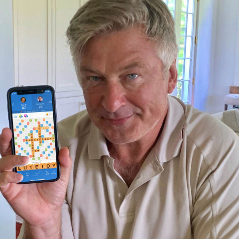 Alec Baldwin for Zynga's Words With Friends (Photo: Business Wire)