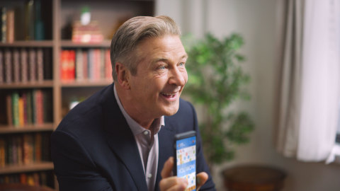 Alec Baldwin collaborates with Words With Friends in creative campaign. (Photo: Business Wire)