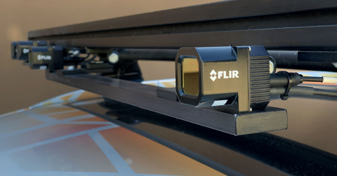 FLIR Systems' thermal imaging sensor has been selected by tier-one automotive supplier, Veoneer, for their autonomous vehicle production contract with a top global automaker. (Photo: Business Wire)