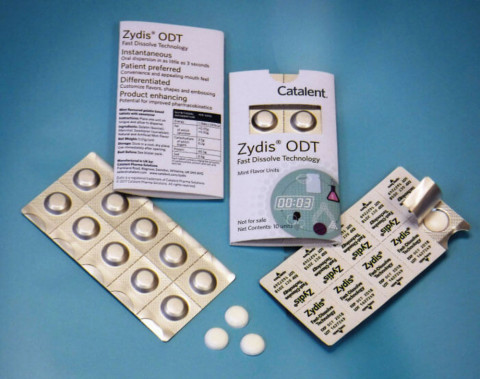 Zydis® ODT Fast Dissolve Technology by Catalent (Photo: Business Wire)