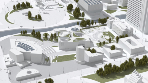 ABB Electrification Launches Virtual 'Smart City' (Graphic: Business Wire)