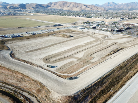 Aerial photo of Mountain View Village site (Photo: Business Wire)