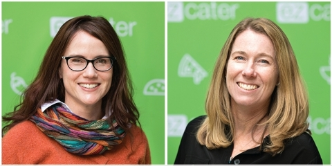 Erin DeCesare, Chief Technology Officer and Diane Swint, Head of Marketplace at ezCater (Photo: Business Wire)