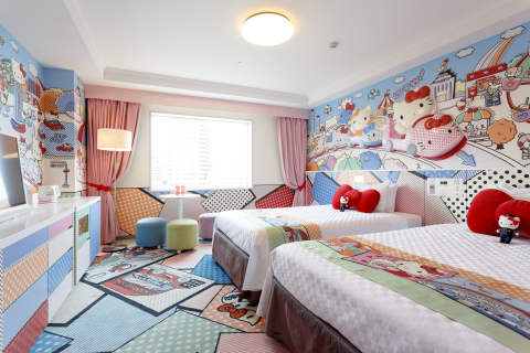 "Keio Plaza Hotel Tama celebrates the 5th anniversary of ""Hello Kitty Rooms"" on November 1, 2019. (c)1976, 2019 SANRIO CO., LTD. APPROVAL No.G602875"